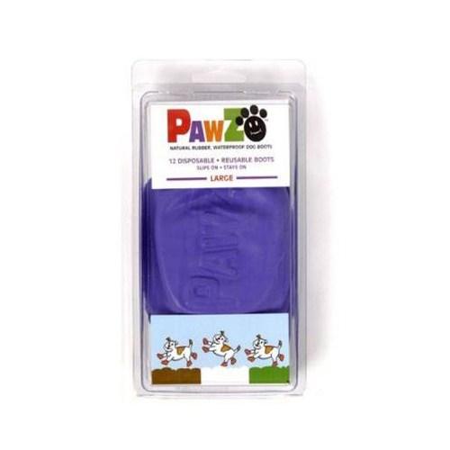 Pawz Köpek Galoşu Large ( Purple ) 12'Li