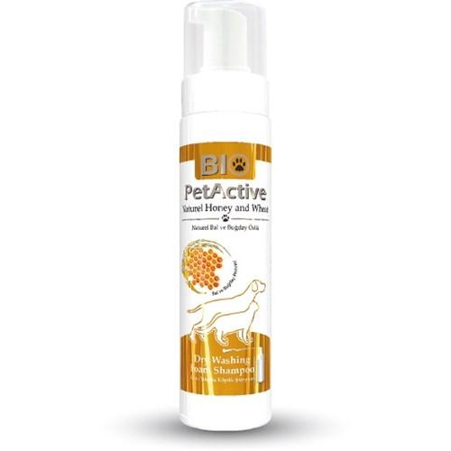 Bio Pet Active Bal Özlü Kuru Köpük Yıkama Şampuanı 200 ml