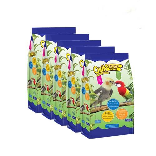 Quik Praket Yemi 750Gr 5'Li Paket