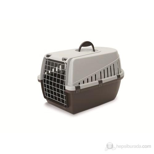 Savic Trotter 1 Kedi Köpek Taşıma Kabı Siyah/Mavi/Kahve