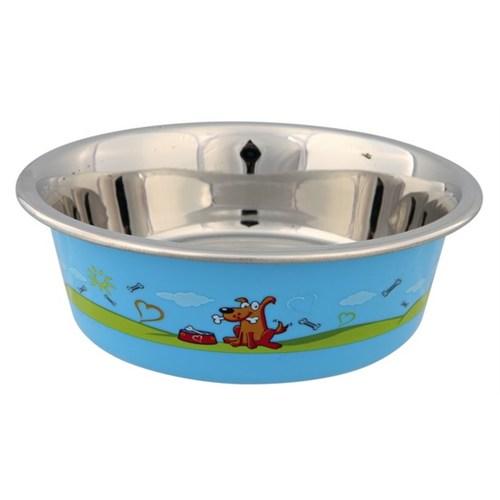 Trixie Köpek Mama Ve Su Kabı, Paslanmaz,0,4Lt/14Cm