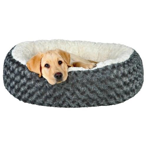 Trixie köpek kedi yatağı 70cm, gri/krem