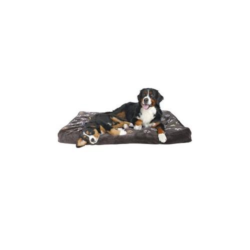 Trixie köpek yatağı 120x80cm, pati desenli gri