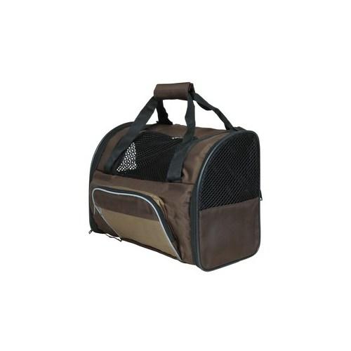 Trixie kedi köpek taşıma sırt çantası 41x30x21cm kahve/bej