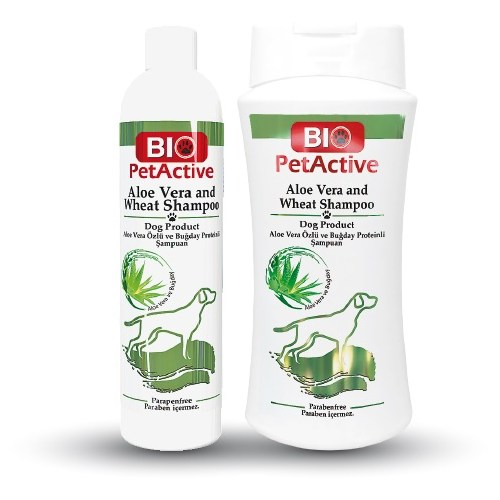 Biopetactive Aloe Vera Shampoo- (Aloe Vera Özlü Köpek Şampuanı) 250 Ml