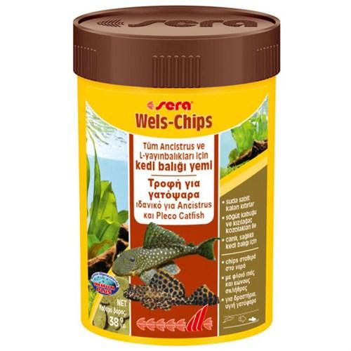 Sera Wels-Chips Balık Yemi 100 Ml