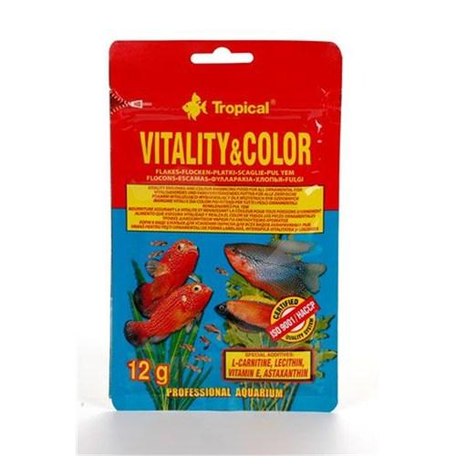Tropikal 70431 Vitality Color Flake 12 Gr