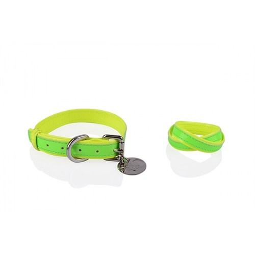 Neon Yeşil-Sarı M Tasma/Bileklik