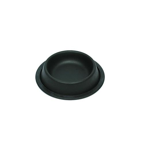 Rn007 Siyah Çelik Mama Kabı 8Oz 12 Cm