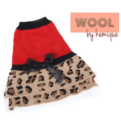 Kemique Leopar Elbise - Wool By Kemique