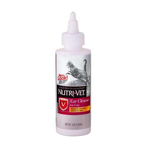 Nutrı-Vet Ear Cleanse Liquid 118 Ml -Kediler için Kulak Temizleme Solüsyonu