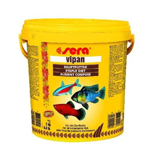Sera Vipan Large Flakes 10.000 Ml Kova Balık Yemi