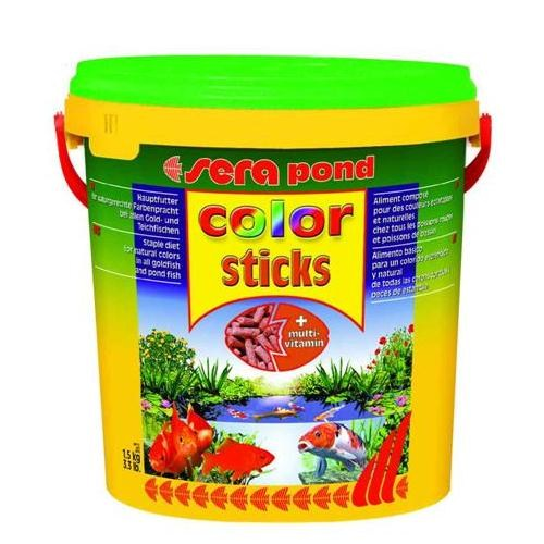 Sera Color Sticks Balık Yemi 10 Lt
