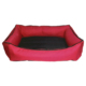 Bronza Su Geçirmez Kedi-Köpek Yatağı No: 1 50x60x15 Kırmızı