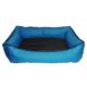 Bronza Su Geçirmez Kedi-Köpek Yatağı No: 2 60x70x15 Mavi
