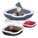 İmac Fred Üçgen Açık Kedi Tuvalet Kabı 51X51X15,5 Cm