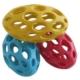 Jw Delikli Esnek Plastik Oval Köpek Oyun Topu (L) 23 Cm