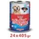 Miglior Cane Biftekli Köpek Konservesi 405 Gr (24 Adet)