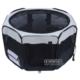 Senful Sdt-3050M Katlanabilir Yavru Köpek Oyun Alanı Medium Siyah