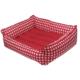 Bronza Soft Kedi-Köpek Yatağı No: 1 40x50x15 Kırmızı