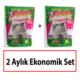 ODORLESS EKSTRA Kedi Kumu 2 Aylık Ekonomik Set (2 adet 3,8 L paket)