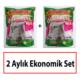 ODORLESS CRYSTAL Kedi Kumu 2 Aylık Ekonomik Set (2 adet 3,8 L paket)