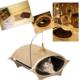 Wingpet Tırmalamalı İp Oyuncaklı Kapalı Kedi Yatağı