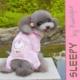 Sleepy By Kemique Monkey Köpek Pijama - Pembe