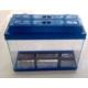 Kanki Pet Akvaryum 50 Cm Renkli Kapak (50X34X20)