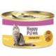 Happy Paws Chicken in Gravy Tavuk Etli ve Soslu Yetişkin Kedi Konservesi 80 Gr.