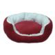Bronza Poli Kedi ve Köpek Yatağı Kırmızı