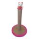 Lepus Oval Kedi Tırmalama Tahtası 33*48 cm Pembe