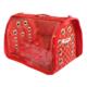 Lepus Flybag Kedi Köpek Taşıma Çantası Kırmızı 25*35*40 cm