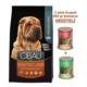 Cibau Kuzu Etli Ve Pirinçli Medium&Maxı Yetişkin Köpek Maması 2.5 Kg