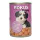 Rokus Etli Yavru Köpek Konserve Maması 410 Gr