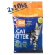 Akkum Pudra Kokulu Kalın Taneli Topaklanan Kedi Kumu 2x10 Kg