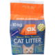 Akkum Pudra Kokulu Kalın Taneli Topaklanan Kedi Kumu 10 Kg