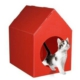 Pett Star kedi köpek kulubesi