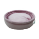 Smart Round (Yuvarlak) Kedi Yatağı Pudra