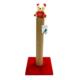 Smart Oyuncaklı Kedi Tırmalama Tahtası Kırmızı 50Cm
