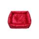 Smart Kare Puff Kedi Yatağı Kırmızı 55X55 Cm
