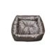 Smart Kare Puff Kedi Yatağı Kahverengi 55X55 Cm