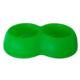 Lepus İkili Köpek Mama Su Kabı 500+500 ml Yeşil