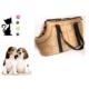 Pratik Buffer Köpek & Kedi Taşıma Çantası Bej