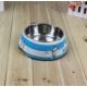 Pratik Sevimli Köpek Desenli Çelik Mama Kabı
