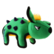 GiGwi 6495 Duraspikes Dikenli Dinazor Yeşil