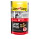 Gimdog Sportsnacks Beef - Sığır Etli Köpek Ödül Tableti 60 gr