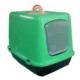 Happy Paws Kapalı Kedi Tuvaleti Yeşil 50 x 40 x 36Cm