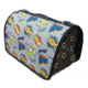 Pet Style Flybag Ekose Desenli Kedi Köpek Taşıma Çantası 44 Cm