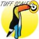 Tuffy Jr Zoo Extra Sağlam Tukan Kuş Köpek Oyuncağı 43 Cm